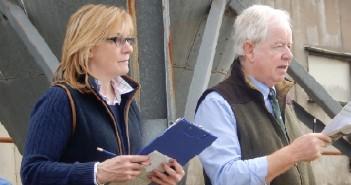 Caroline & Crichton in Auction Action