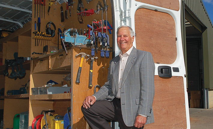 Glyn Baker set up business as an agricultural engineer in 1965