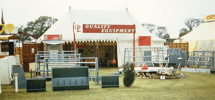 Quality Equipment exhibited under its new name for the first time at the 1971 Suffolk Show