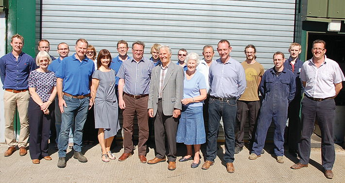 QE currently employs a staff of 30 from its Woolpit, Suffolk base