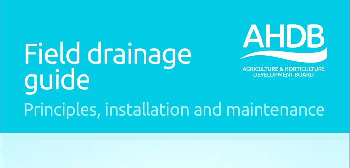 AHDB drainage cover - 700