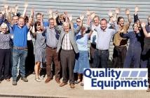 QE charity team pic