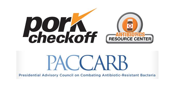 Pork checkoff antibiotics PACCARB