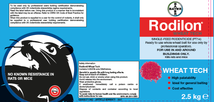 Bayer rodenticide labels