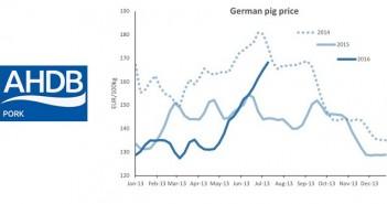 AHP German price trend July 21