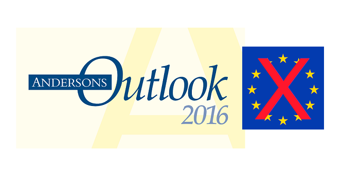 Andersons outlook Brexit