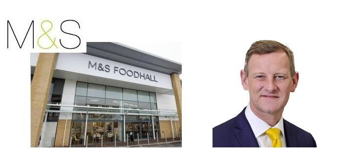 M&S food Steve Rowe