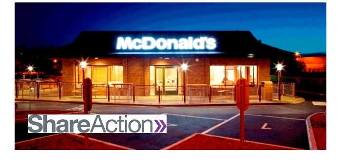 McDonalds + Shareaction