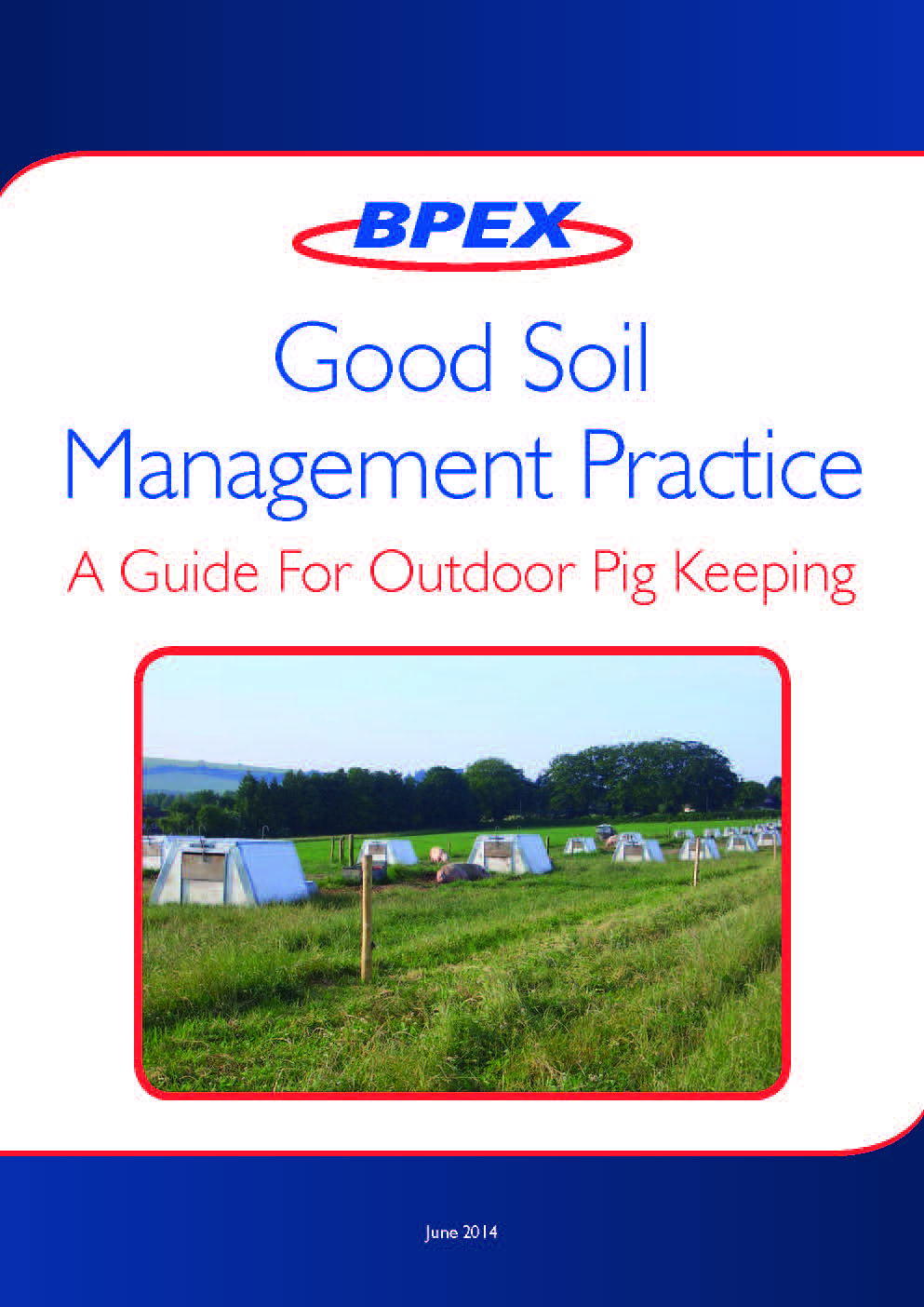 Outdoor pig production must safeguard drinking water for Soil management