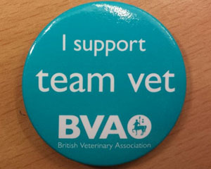 BVA teamvet-badge