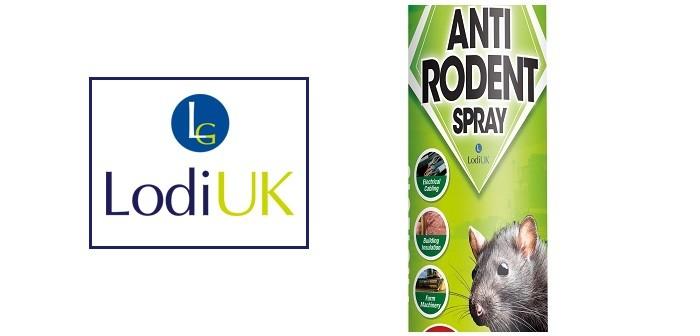 Lodi UK's new Anti-Rodent Spray