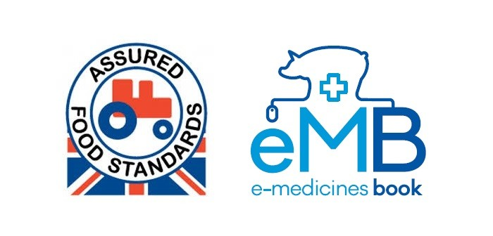 Red tractor emb