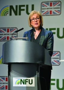 Andrea Leasom. Pic courtesy of the NFU