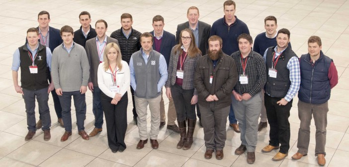 Young farmers on The Co-operative's training scheme