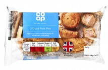 Co-op 2 Snack Pork Pies