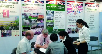 The British stand proved popular at VIV Asia