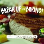 Break up with boring