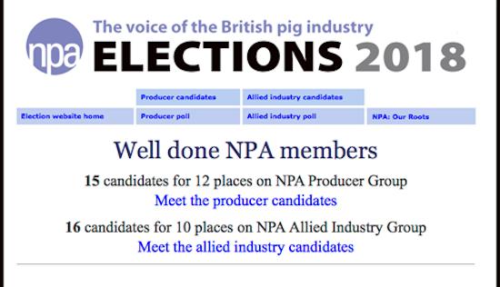 NPA elections site