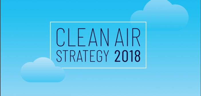 Clear Air Strategy 2018 logo