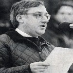 Stewart Houston, speaking at a rally in London in 1999