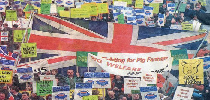 marchers London 1998