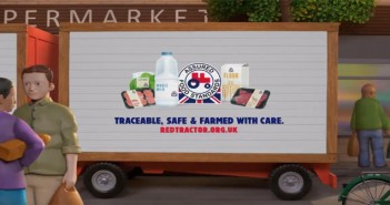 Red tractor TV advert copy