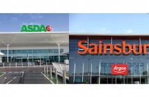 Asda and Sainsbury's montage