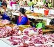 Chinese market stall