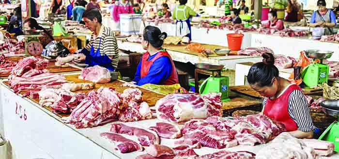 The Chinese Government is desperate to stabilise Chinese pork prices, which have rocketed on the back of the ASF crisis