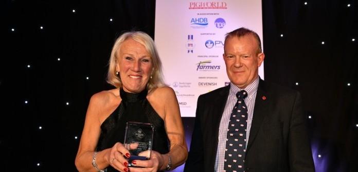 Chris Brant Award Rita Wells RL