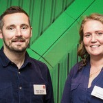 Pig sector 2019 Nuffield Scholars Chris Harrap and Heidi Hall