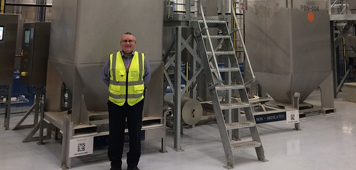 Kenny Shand, Premier Nutrition's new head of supply chain