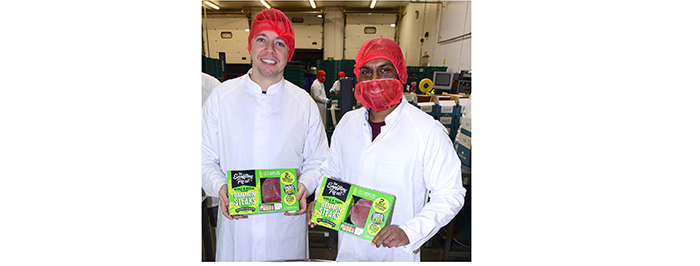 Snaffling Pig founders Nick Coleman and Udhi Silva