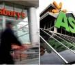 Sainburys and Asda