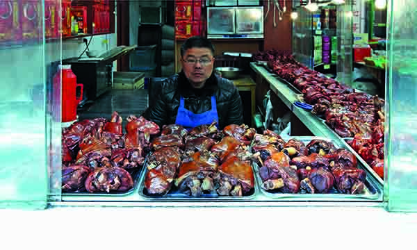 Pigmeat comprises 60% of all meat eaten in China