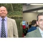 AHDB Pork's two new board members: Tim Bradshaw (left) and Nick Davies