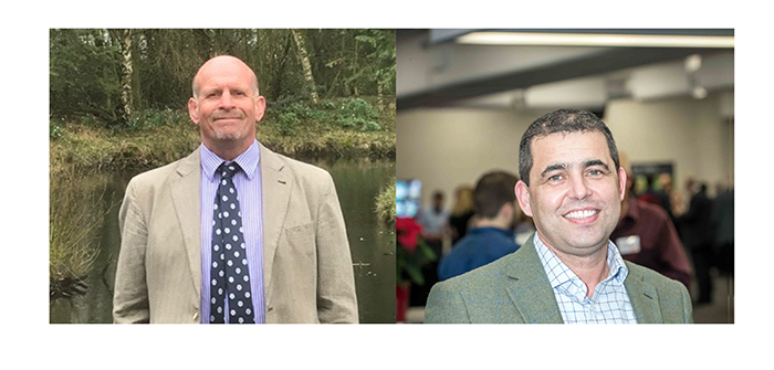 AHDB Pork's two new board members: Tim Bradshaw (left) and Nick Davies