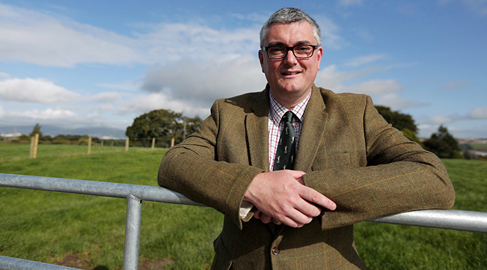 Simon Doherty, president of the British Veterinary Association