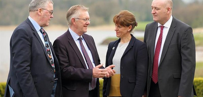 Four UK farming union presidents