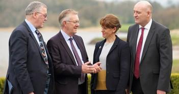 Fri 4 April 2019 - UK farming summit and UFU dinner, at Lough Erne Resort, Fermanagh.