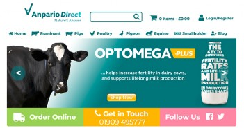 Anpario Direct home page