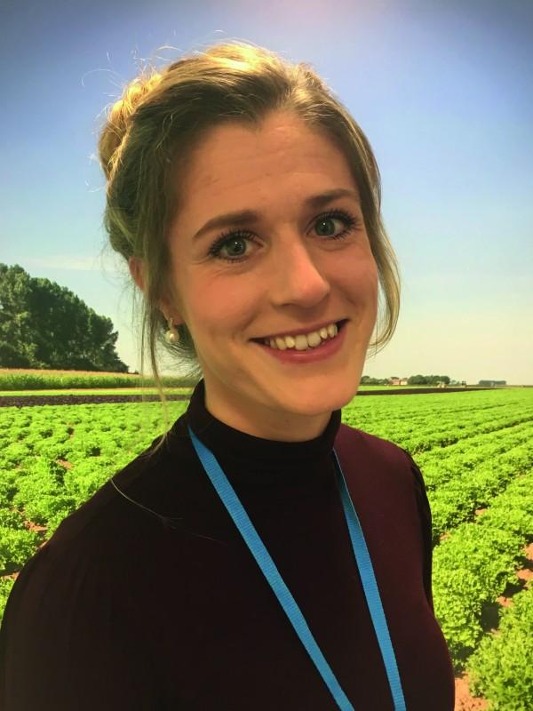 Lauren Dimmack, AHDB's health and welfare officer