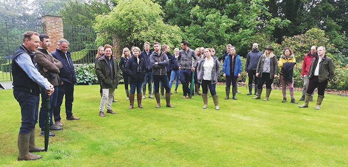 YNPA members were given an overview of the Mulgrave Estate