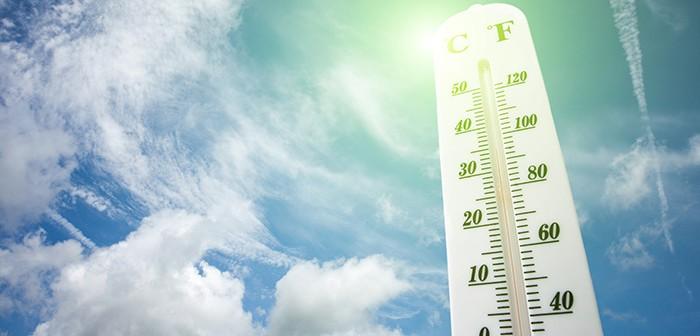 Heat stress warning