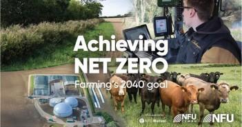 NFU - Achieving Net Zero graphic