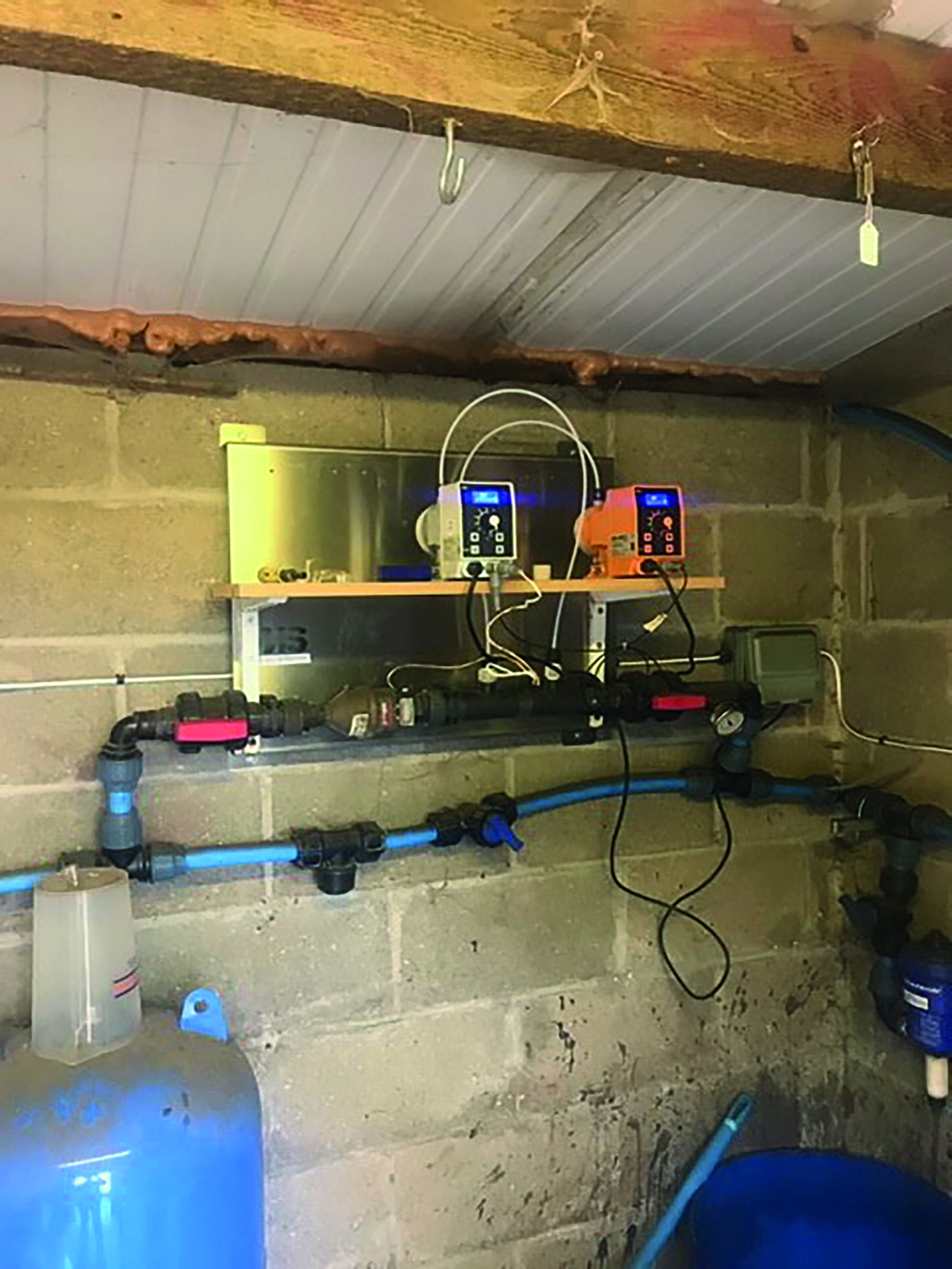 A simple install into an existing pipework system