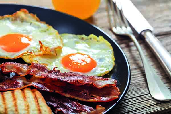 The Canadian research suggests there is no need to take bacon out of the full English breakfast