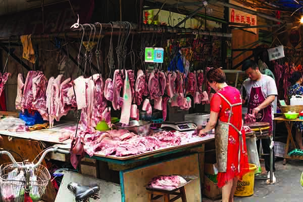 Pork prices in China have almost doubled since the start of 2019, fuelling inflation