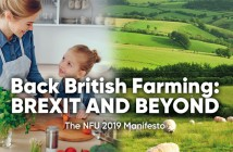 NFU election manifesto cover