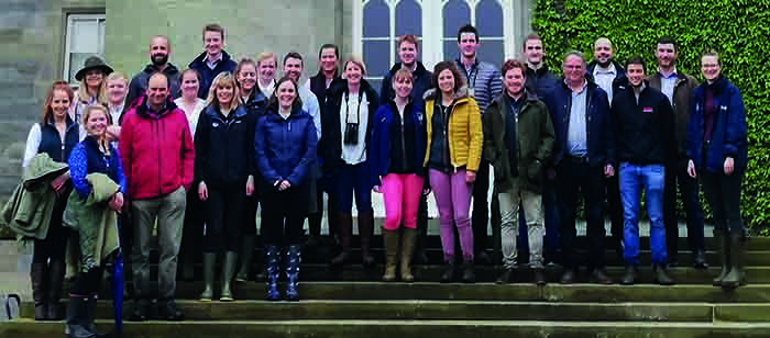 Young NPA recently visited the Mulgarve Estate during a tour of Yorkshire